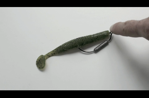 Tips for Rigging Torn Plastic Baits
